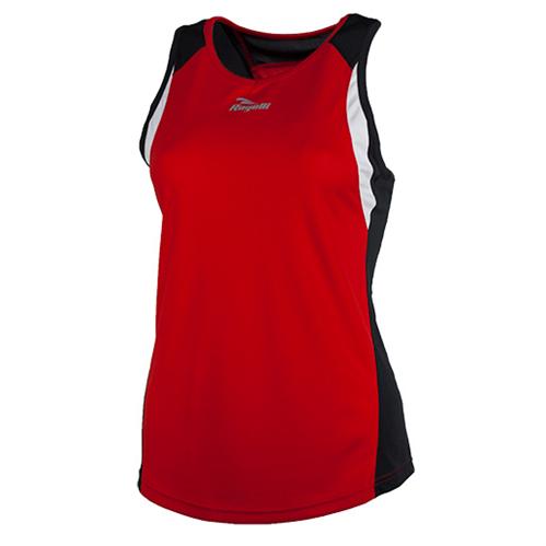 7fa3b5e8345 Esty shirt zonder mouwen rood/zwart/wit - Fiets en Schaatskleding