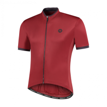 Heren fietsshirt KM Essential Bordeaux