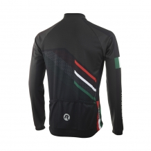2 Delig Team Rogelli 2.0 set thermo schaats+ Jersey jack Rood/zwart/wit