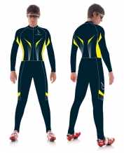 Hajo Yellow Thermo schaatspak