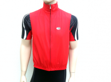 Body warmer/windstopper Rood